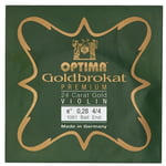 "Optima Goldbrokat 24K Gold e"" 0.28 BE"