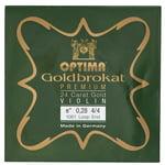 """Optima Goldbrokat 24K Gold e"""" 0.28 LP"""