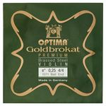 "Optima Goldbrokat Brassed e"" 0.25 BE"