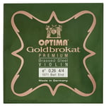 "Optima Goldbrokat Brassed e"" 0.26 BE"