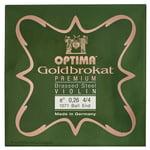 "Optima Goldbrokat Brassed e"" 0.26 BE"