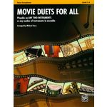 Alfred Music Publishing Movie Duets For All Tenor Sax