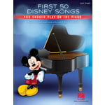 Hal Leonard First 50 Disney Songs Piano