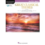 Hal Leonard Great Classical Themes A-Sax