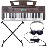 Yamaha PSR-E360 Dark Walnut Set