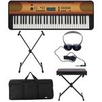 Yamaha PSR-E360 Maple Deluxe Bundle