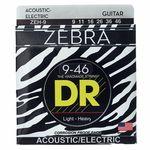 DR Strings DR A ZEBR ZEH-9
