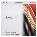 Bow Brand Pedal Natural Gut 1st G No.6