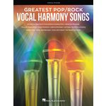 Hal Leonard Greatest Pop/Rock Vocal Harmon
