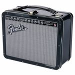 Aquarius Fender Black Tolex Lunch Box