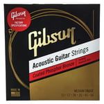Gibson Coated Phosphor Bronze Medium