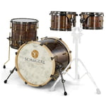 Schagerl Drums Dark Vintage Studio Kit