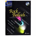 Schott Rock Ballads 1 Piano