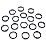 Stairville Snap Protector Ring Bk 16pcs