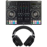 Roland DJ-707M Headphone Bundle