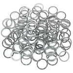 Stairville Snap Protector Ring Si 100pcs
