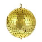 Eurolite Mirror Ball 15 cm gold
