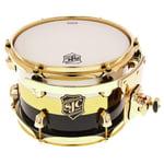 """SJC Drums 10""""x07"""" Tom Tom Tuxedo"""