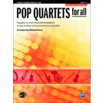 Alfred Music Publishing Pop Quartets For All Trombone