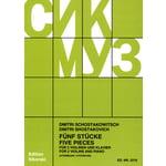 Sikorski Musikverlage Schostakowitsch 5 Stücke VL