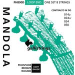 Galli Strings PHB90D Mandola Strings Light