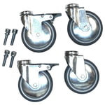 Jaspers Caster Set with 4 casters/100
