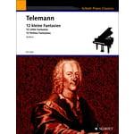 Schott Telemann 12 kleine Fantasien