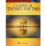 Hal Leonard Classical Themes Two Clarinets