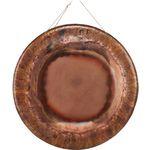 Eichenwurzel Bronze Gong 95cm