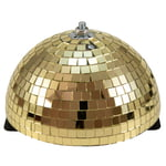 Eurolite Half Mirror Ball 20cm gold