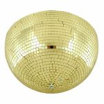 Eurolite Half Mirror Ball 40cm gold