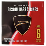 Dingwall 6-Str. Bass 030-130 Set RW NP