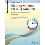 Schott Fit in 15 Minutes Clarinet