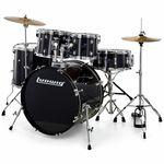"""Ludwig Backbeat Drumkit 22"""" Black Sp."""
