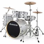 "Ludwig Evolution Drum Kit 20"" Silver"