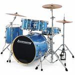 "Ludwig Evolution Drum Kit 20"" Blue"