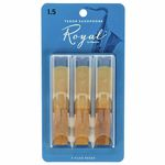 DAddario Woodwinds Royal Tenor Sax 1.5 - 3-Pack