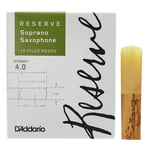 DAddario Woodwinds Reserve Soprano Saxophone 4.0