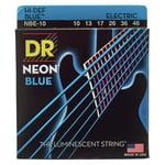 DR Strings Hi-Def Neon Blue NBE-10-46