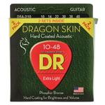 DR Strings Dragon Skin DSA 10-48 2-Pack