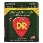 DR Strings Dragon Skin DSA 12-54 2-Pack