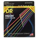 DR Strings Hi-Def Neon Multi 12-54 2-Pack