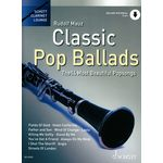 Schott Classic Pop Ballads Clarinet