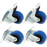 Millenium Blue Wheel Bundle 80 mm