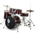 Millenium Focus 18 Drum Set Red