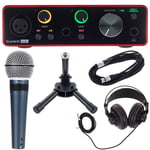 Focusrite Scarlett Solo 3rd Podcast Set