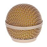 the t.bone SM58 Replacement Screen Gold