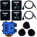 Rode Wireless GO Set Bk