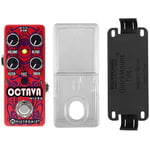 Pigtronix Octava Micro Bundle PS L RB
