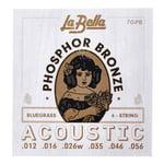 La Bella 7GPB Phosphor Bronze Bluegrass
